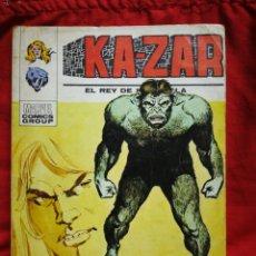 Cómics: KA-ZAR- EDICIONES VÉRTICE, N°3 (MARVEL,COMICS GROUP)1°ED. ESPECIAL, TACO.1973. Lote 243808005