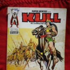 Cómics: KULL, EL CONQUISTADOR -EDICIONES VÉRTICE, N°3 (MARVEL,COMICS GROUP)1°ED. ESPECIAL, TACO.1974. Lote 243808600