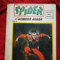 Cómics: SPIDER, EL HOMBRE ARAÑA- EDICIONES VÉRTICE, N°6- EDICIONES ESPECIALES, TACO.1975. DIFÍCIL!!!. Lote 243855615