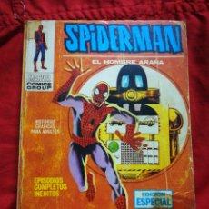 Cómics: SPIDERMAN, EL HOMBRE ARAÑA- EDICIONES VÉRTICE (COMICS GROUP), N°4- EDICION ESPECIAL, TACO.1970. Lote 243856990