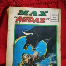Cómics: MAX AUDAZ- EDICIONES VÉRTICE, VOL.5- EDICION ESPECIAL, EXTRA. 1974.DIFÍCIL!!!.. Lote 243867675
