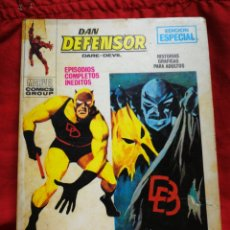 Cómics: DAN DEFENSOR (DARE-DEVIL)- EDICIONES VÉRTICE, N°19 (COMICS GROUP), TACO, 1971.. Lote 243899250