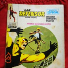 Cómics: DAN DEFENSOR (DARE-DEVIL)- EDICIONES VÉRTICE, N°20 (COMICS GROUP), TACO, 1971.. Lote 243900480