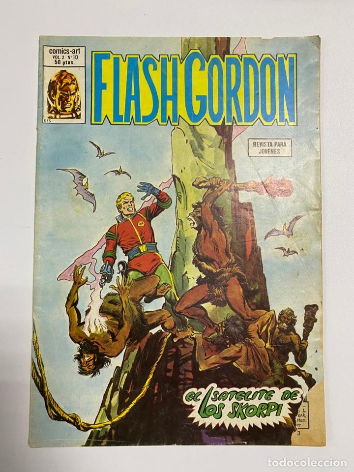 FLASH GORDON. VOL. 2 Nº 10 - EL SATELITE DE LOS SKORPI. COMIC-ART. EDICIONES VERTICE (Tebeos y Comics - Vértice - V.2)