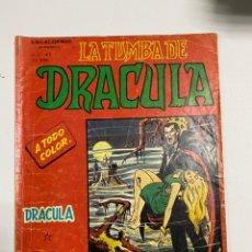 Cómics: LA TUMBA DE DRACULA. ESCALOFRIO. VOL. 2 Nº 1. EDICIONES VERTICE.. Lote 243989415