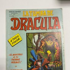 Cómics: LA TUMBA DE DRACULA. ESCALOFRIO. VOL. 2 Nº 3. EDICIONES VERTICE.. Lote 243989640