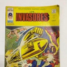 Cómics: LOS INVASORES. V.1. Nº 11 - LA NOCHE DE LA BALA AZUL. EDICIONES VERTICE.. Lote 243995300