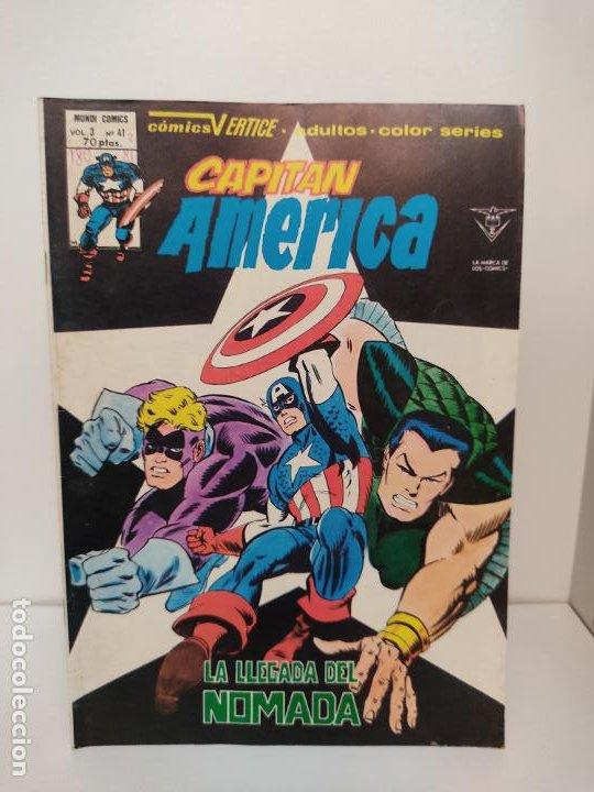 CAPITAN AMERICA VERTICE VOLUMEN 3 NUMERO 41 (Tebeos y Comics - Vértice - Capitán América)