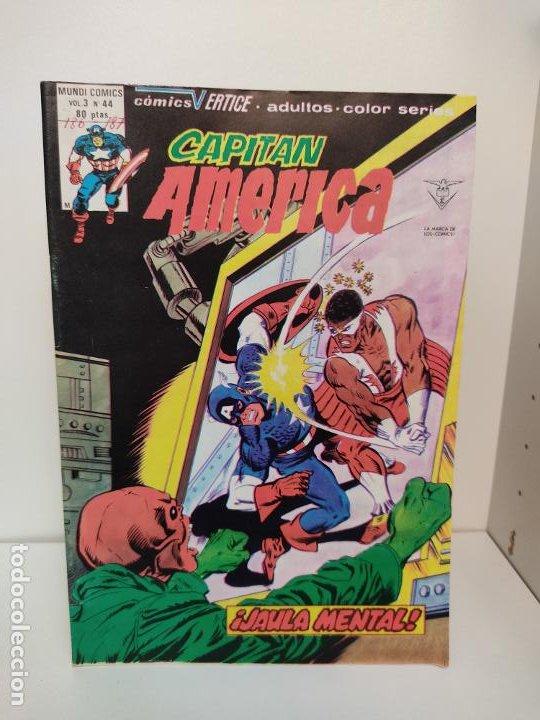 CAPITAN AMERICA VERTICE VOLUMEN 3 NUMERO 44 (Tebeos y Comics - Vértice - Capitán América)