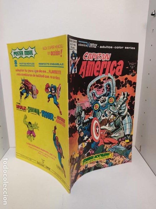 CAPITAN AMERICA VERTICE VOLUMEN 3 NUMERO 46 (Tebeos y Comics - Vértice - Capitán América)