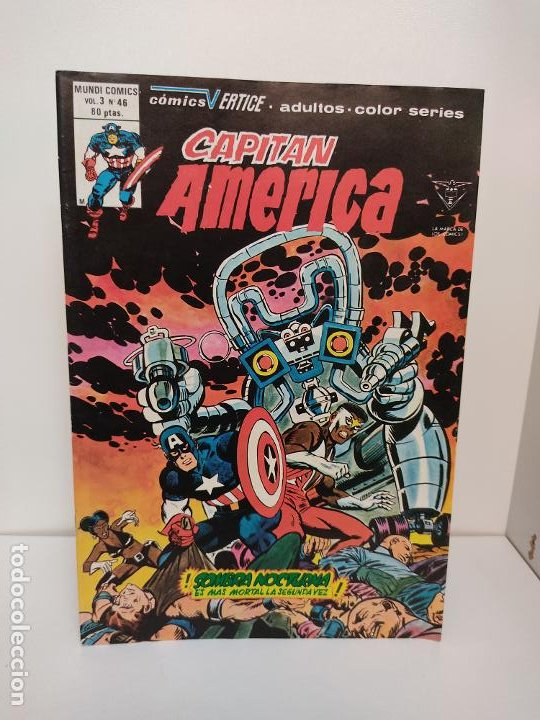 Cómics: Capitan America Vertice Volumen 3 Numero 46 - Foto 3 - 243998230
