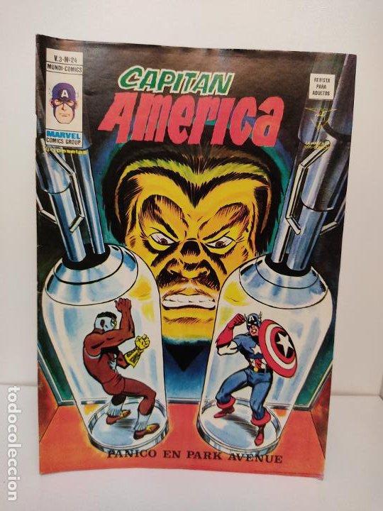 CAPITAN AMERICA VERTICE VOLUMEN 3 NUMERO 24 (Tebeos y Comics - Vértice - Capitán América)