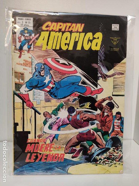 CAPITAN AMERICA VERTICE VOLUMEN 3 NUMERO 35 (Tebeos y Comics - Vértice - Capitán América)