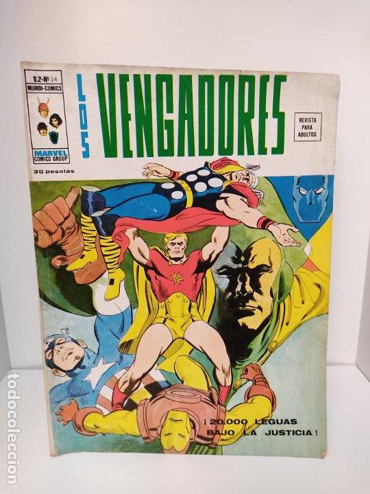 LOS VENGADORES VERTICE VOLUMEN 2 NUMERO 24 (Tebeos y Comics - Vértice - Vengadores)