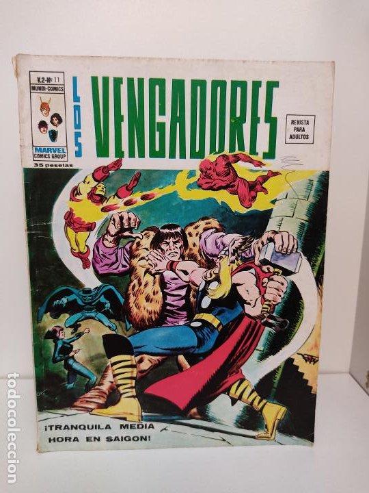 LOS VENGADORES VERTICE VOLUMEN 2 NUMERO 11 (Tebeos y Comics - Vértice - Vengadores)