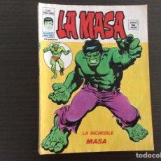 Cómics: LA MASA LOTE NÚMEROS VOLUMEN 3. Lote 244021180