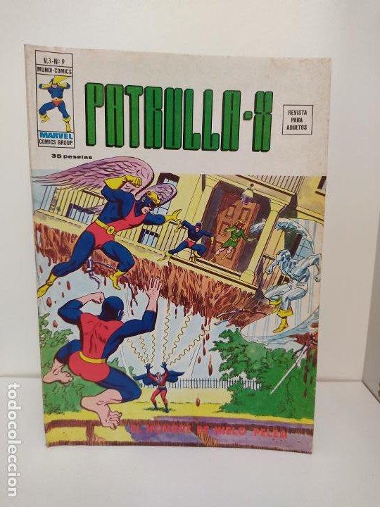 PATRULLA X VERTICE VOLUMEN 3 NUMERO 9 (Tebeos y Comics - Vértice - Patrulla X)