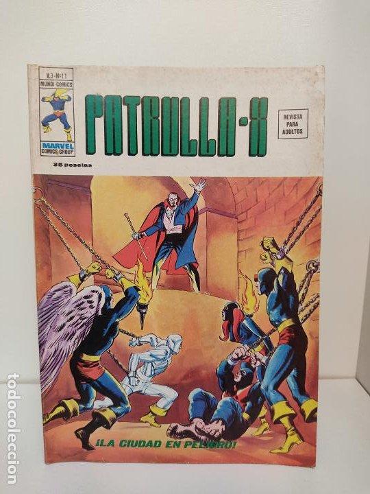 PATRULLA X VERTICE VOLUMEN 3 NUMERO 11 (Tebeos y Comics - Vértice - Patrulla X)