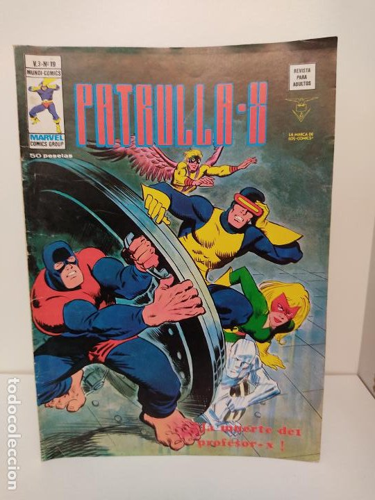 PATRULLA X VERTICE VOLUMEN 3 NUMERO 19 (Tebeos y Comics - Vértice - Patrulla X)