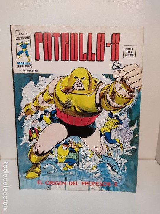 PATRULLA X VERTICE VOLUMEN 3 NUMERO 6 (Tebeos y Comics - Vértice - Patrulla X)