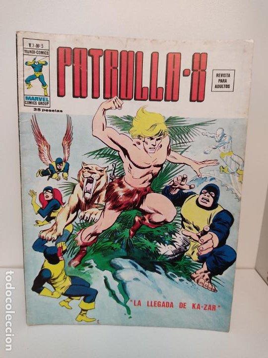 PATRULLA X VERTICE VOLUMEN 3 NUMERO 5 (Tebeos y Comics - Vértice - Patrulla X)