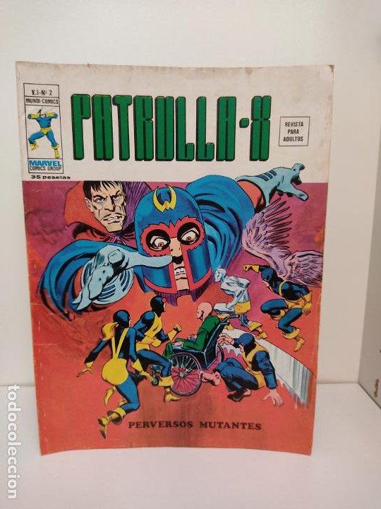 PATRULLA X VERTICE VOLUMEN 3 NUMERO 2 (Tebeos y Comics - Vértice - Patrulla X)