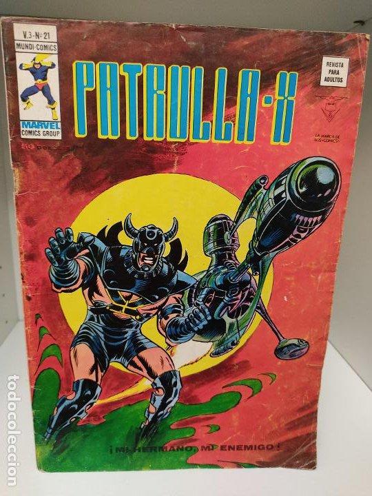 PATRULLA X VERTICE VOLUMEN 3 NUMERO 21 (Tebeos y Comics - Vértice - Patrulla X)