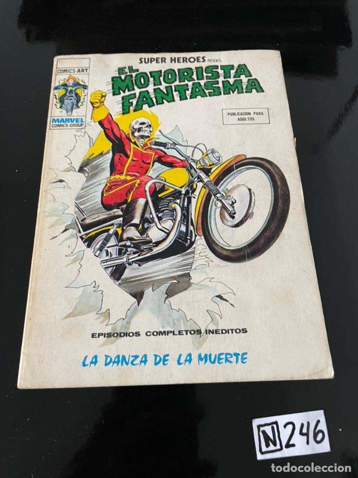 SUPER HEROES Nº 18, EL MOTORISTA FANTASMA, VERTICE VOLUMEN 2 (Tebeos y Comics - Vértice - Otros)