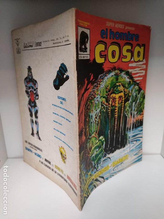 SÚPER HÉROES PRESENTA: EL HOMBRE COSA NUMERO 3 VÉRTICE (Tebeos y Comics - Vértice - Surco / Mundi-Comic)