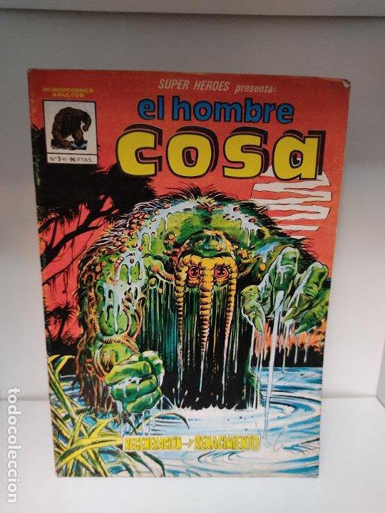 Cómics: SÚPER HÉROES PRESENTA: EL HOMBRE COSA NUMERO 3 VÉRTICE - Foto 2 - 244191385