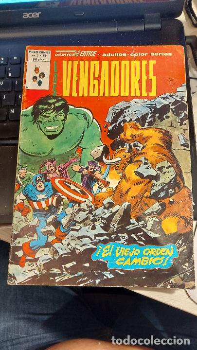 LOS VENGADORES VOL 2 N 50 (Tebeos y Comics - Vértice - Vengadores)