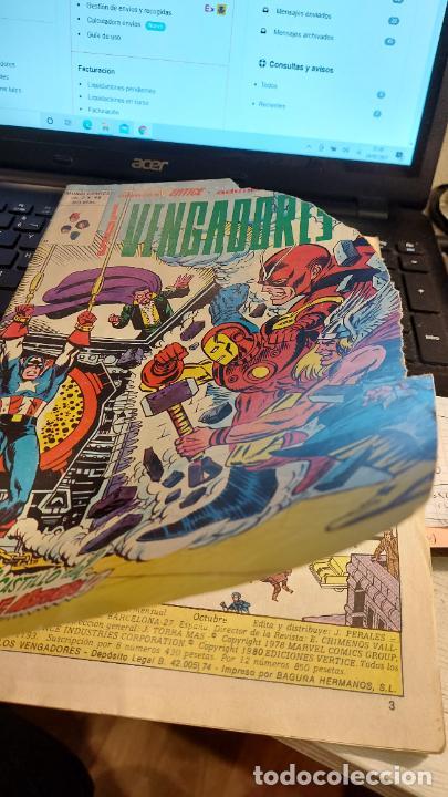 LOS VENGADORES VOL 2 N 48 (Tebeos y Comics - Vértice - Vengadores)