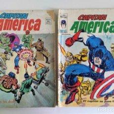 Cómics: CAPITÁN AMERICA VOL.3 Nº 3-4 ~ MARVEL / VERTICE (1976) - LOTE CON TARAS. Lote 244445440