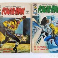 Cómics: LOTE POWER-MAN (HÉROES MARVEL VOL.2) NºS 28-29 ~ MARVEL / VERTICE (1977). Lote 244446325