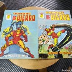 Cómics: EL HOMBRE DE HIERRO LOTE DE 5N° (VÉRTICE). Lote 244537995