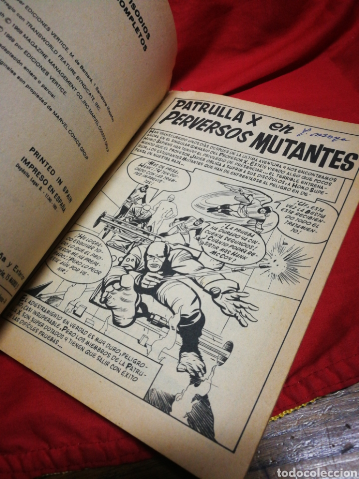 Cómics: PATRULLA X (X-MEN)- EDICIONES VÉRTICE, N°2- CÓMICS GROUP, EDICIÓN ESPECIAL, TACO. 1969 - Foto 3 - 244589765