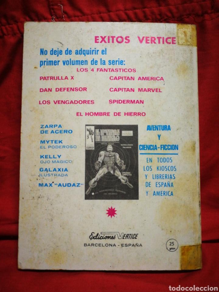 Cómics: PATRULLA X (X-MEN)- EDICIONES VÉRTICE, N°2- CÓMICS GROUP, EDICIÓN ESPECIAL, TACO. 1969 - Foto 5 - 244589765