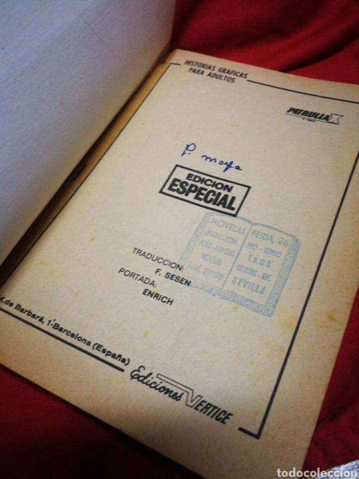 Cómics: PATRULLA X (X-MEN)- EDICIONES VÉRTICE, N°1- CÓMICS GROUP, EDICIÓN ESPECIAL, TACO. 1969.DIFICIL!!! - Foto 3 - 244591900