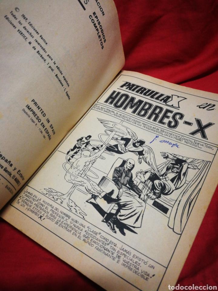 Cómics: PATRULLA X (X-MEN)- EDICIONES VÉRTICE, N°1- CÓMICS GROUP, EDICIÓN ESPECIAL, TACO. 1969.DIFICIL!!! - Foto 4 - 244591900