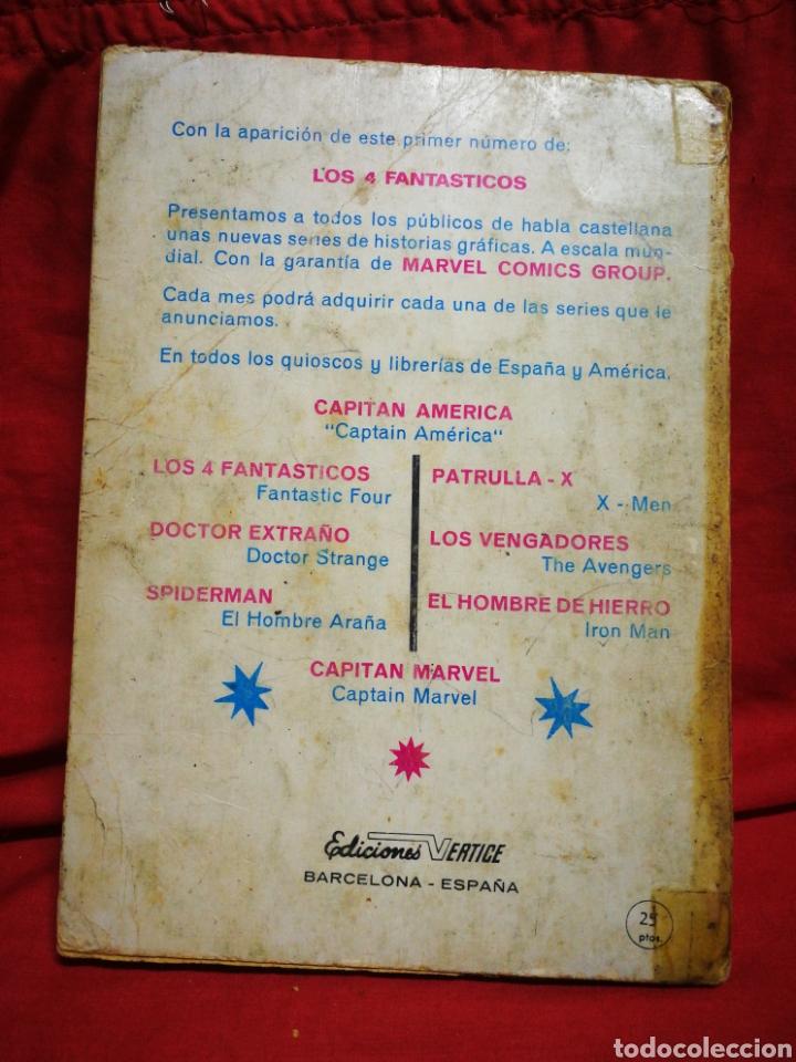 Cómics: PATRULLA X (X-MEN)- EDICIONES VÉRTICE, N°1- CÓMICS GROUP, EDICIÓN ESPECIAL, TACO. 1969.DIFICIL!!! - Foto 8 - 244591900
