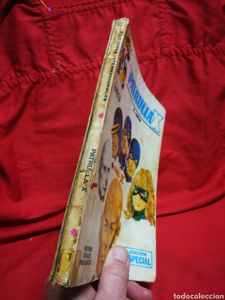 Cómics: PATRULLA X (X-MEN)- EDICIONES VÉRTICE, N°1- CÓMICS GROUP, EDICIÓN ESPECIAL, TACO. 1969.DIFICIL!!! - Foto 9 - 244591900
