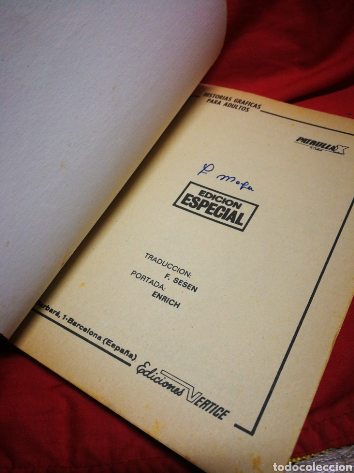 Cómics: PATRULLA X (X-MEN)- EDICIONES VÉRTICE, N°3- CÓMICS GROUP, EDICIÓN ESPECIAL, TACO. 1969 - Foto 2 - 244592650