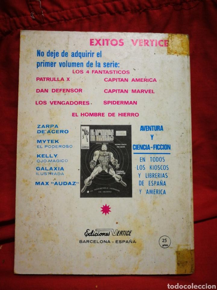 Cómics: PATRULLA X (X-MEN)- EDICIONES VÉRTICE, N°3- CÓMICS GROUP, EDICIÓN ESPECIAL, TACO. 1969 - Foto 5 - 244592650