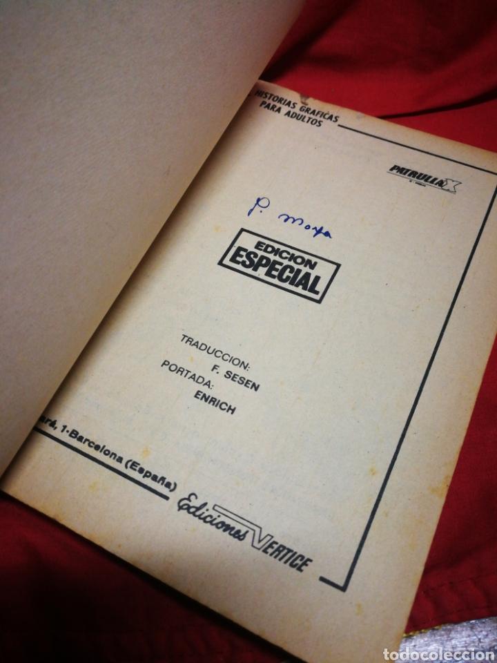 Cómics: PATRULLA X (X-MEN)- EDICIONES VÉRTICE, N°6- CÓMICS GROUP, EDICIÓN ESPECIAL, TACO. 1970 - Foto 2 - 244593635
