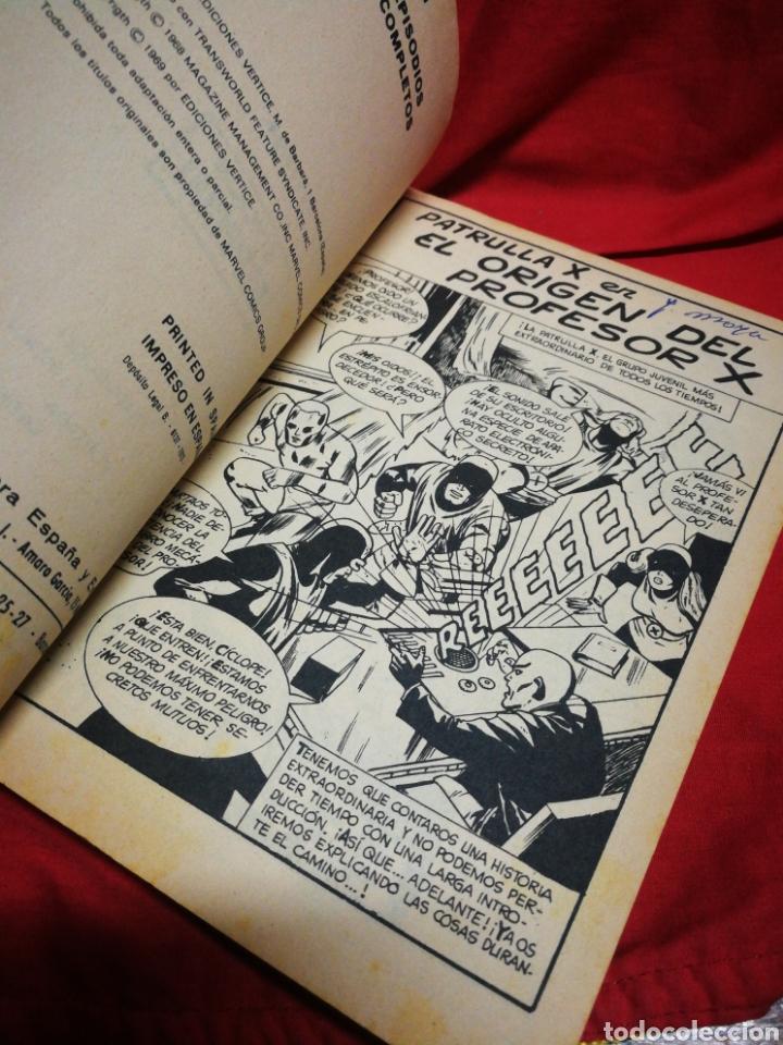 Cómics: PATRULLA X (X-MEN)- EDICIONES VÉRTICE, N°6- CÓMICS GROUP, EDICIÓN ESPECIAL, TACO. 1970 - Foto 3 - 244593635