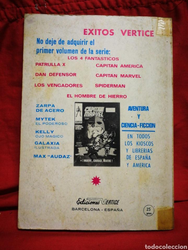 Cómics: PATRULLA X (X-MEN)- EDICIONES VÉRTICE, N°6- CÓMICS GROUP, EDICIÓN ESPECIAL, TACO. 1970 - Foto 4 - 244593635