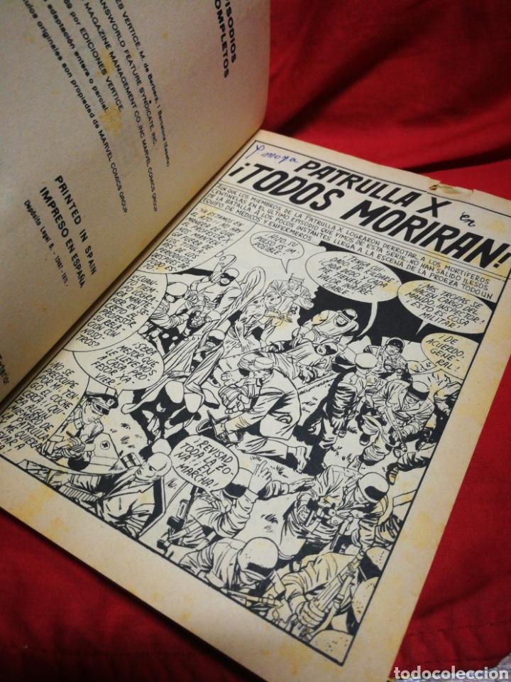 Cómics: PATRULLA X (X-MEN)- EDICIONES VÉRTICE, N°8- CÓMICS GROUP, EDICIÓN ESPECIAL, TACO. 1970 - Foto 3 - 244594350