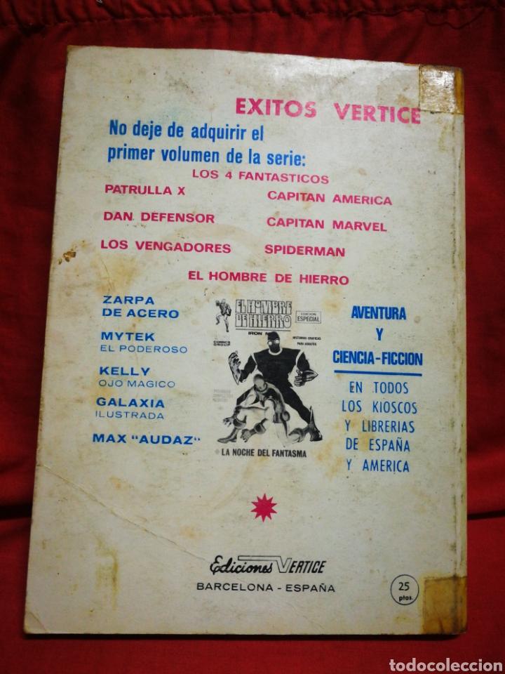 Cómics: PATRULLA X (X-MEN)- EDICIONES VÉRTICE, N°8- CÓMICS GROUP, EDICIÓN ESPECIAL, TACO. 1970 - Foto 4 - 244594350
