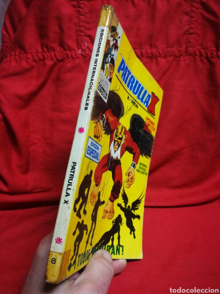 Cómics: PATRULLA X (X-MEN)- EDICIONES VÉRTICE, N°8- CÓMICS GROUP, EDICIÓN ESPECIAL, TACO. 1970 - Foto 5 - 244594350
