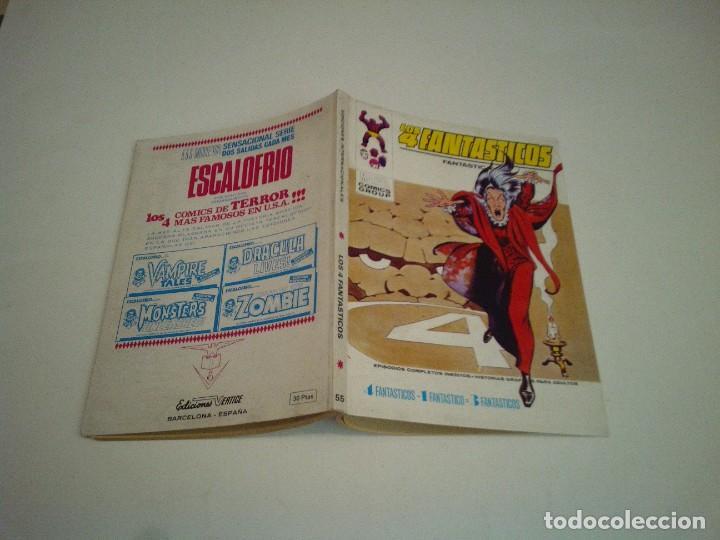 Cómics: LOS 4 FANTASTICOS - VERTICE - VOLUMEN 1 - NUMERO 55 - MUY BUEN ESTADO - EXCELENTE - GORBAUD - Foto 5 - 244601605
